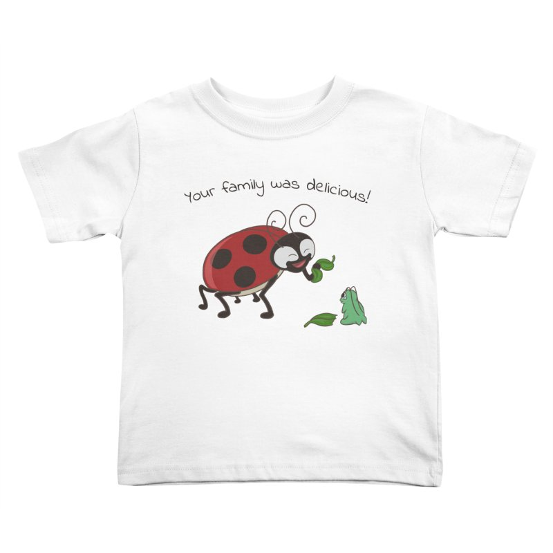 Adorable Monster Kids Toddler T-Shirt by Creaturista's Fine Goods