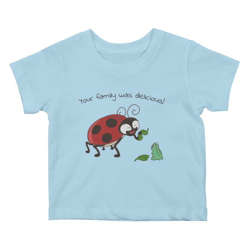 Adorable Monster Kids Baby T-Shirt by Creaturista's Fine Goods