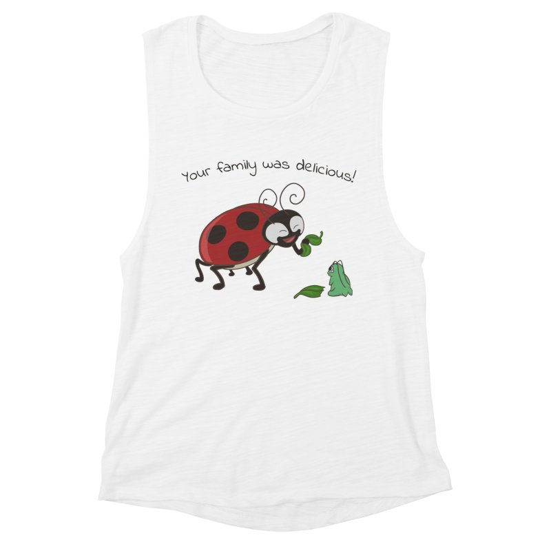 Adorable Monster Women's Muscle Tank by Creaturista's Fine Goods