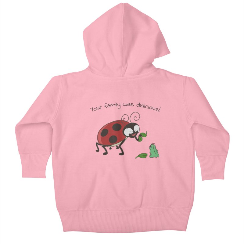 Adorable Monster Kids Baby Zip-Up Hoody by Creaturista's Fine Goods