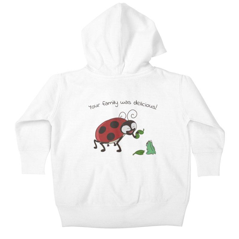 Adorable Monster Kids Baby Zip-Up Hoody by Creaturista's Fine Goods