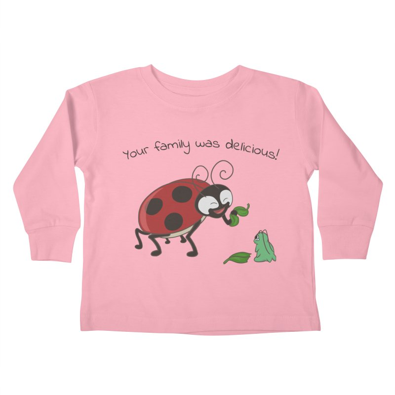 Adorable Monster Kids Toddler Longsleeve T-Shirt by Creaturista's Fine Goods