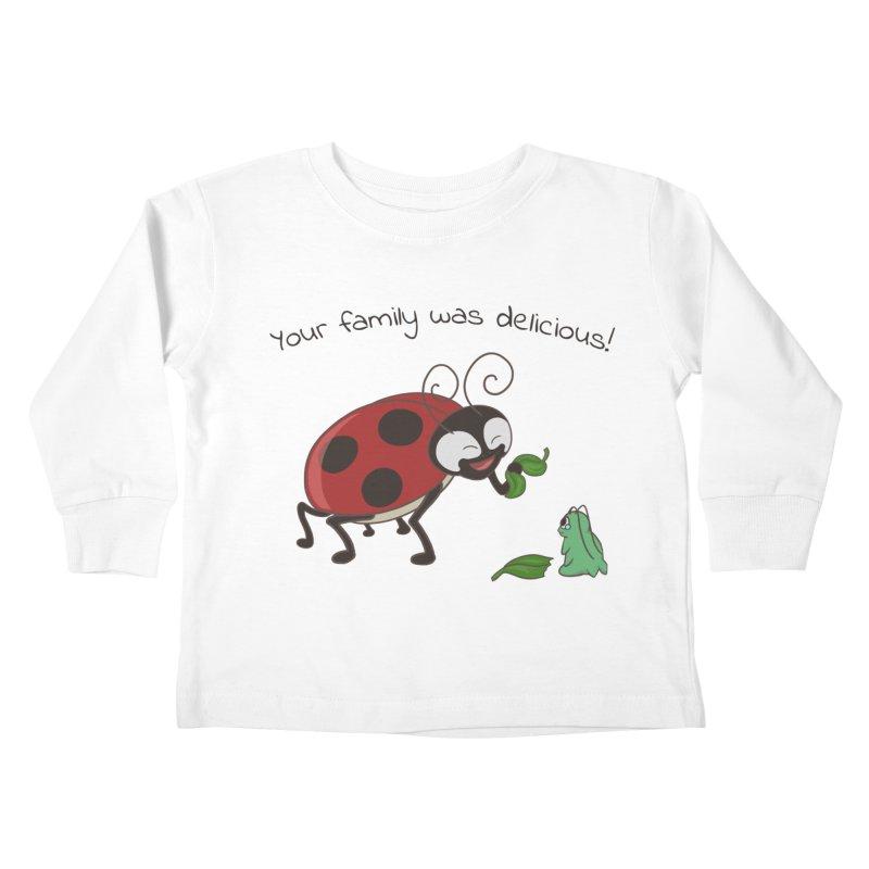 Adorable Monster Kids Toddler Longsleeve T-Shirt by Creaturista's Fine Goods