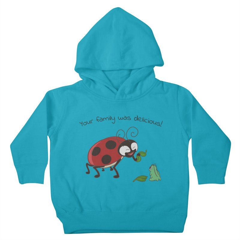Adorable Monster Kids Toddler Pullover Hoody by Creaturista's Fine Goods