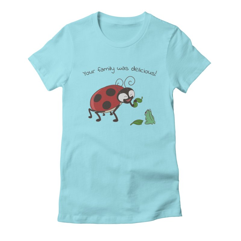 Adorable Monster Women's Fitted T-Shirt by Creaturista's Fine Goods