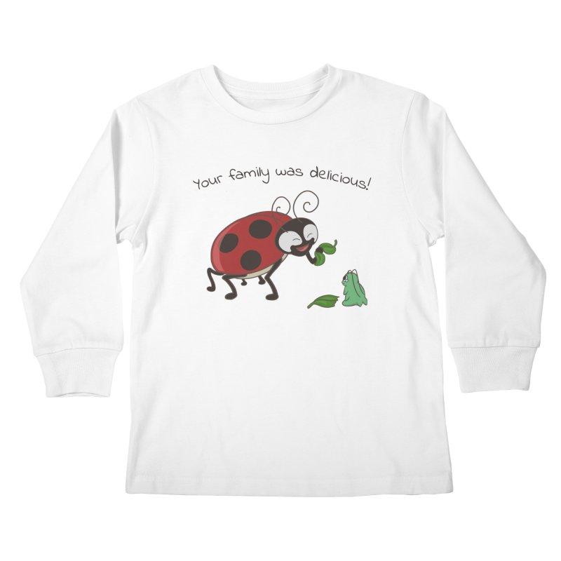 Adorable Monster Kids Longsleeve T-Shirt by Creaturista's Fine Goods
