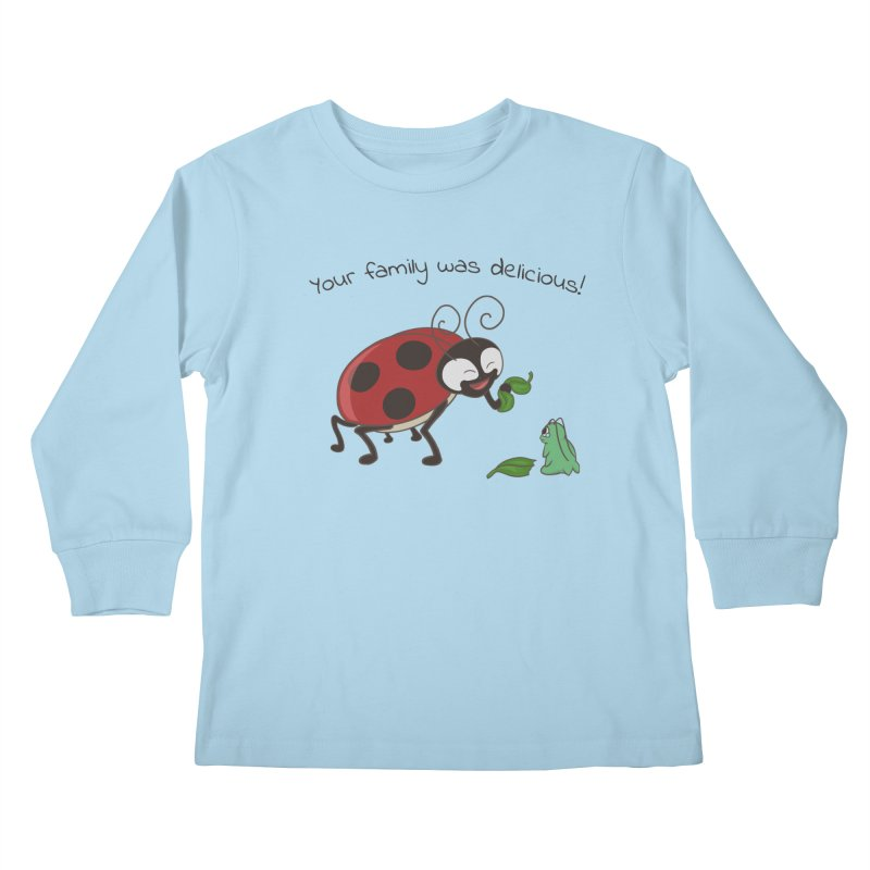 Adorable Monster Kids Longsleeve T-Shirt by Creaturista's Fine Goods