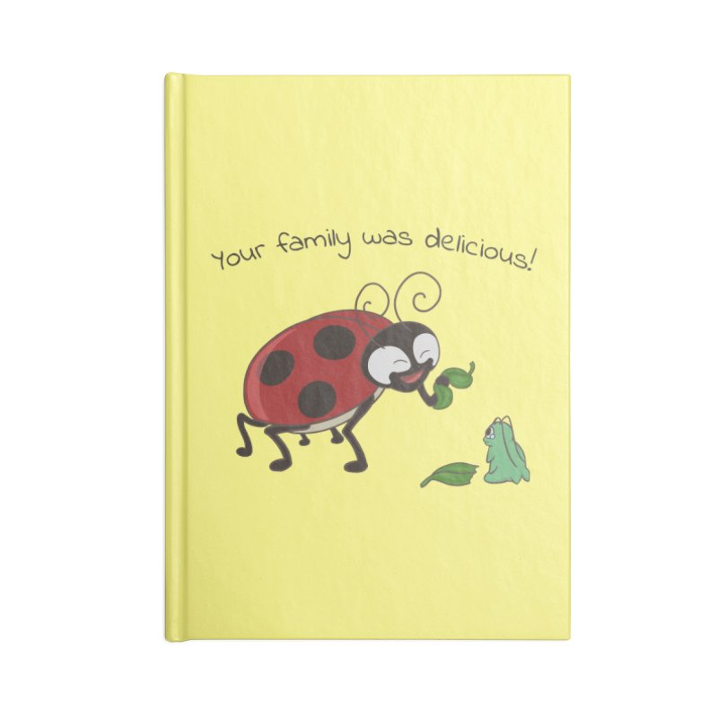 Adorable Monster Accessories Lined Journal Notebook by Creaturista's Fine Goods