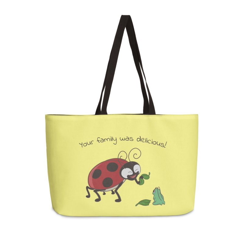 Adorable Monster Accessories Weekender Bag Bag by Creaturista's Fine Goods