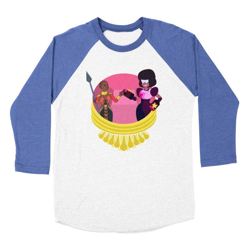 Respect Women's Baseball Triblend Longsleeve T-Shirt by Creaturista's Fine Goods