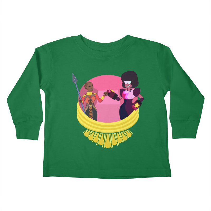 Respect Kids Toddler Longsleeve T-Shirt by Creaturista's Fine Goods