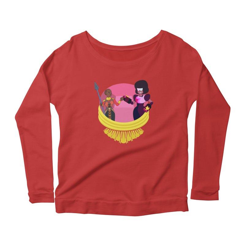 Respect Women's Scoop Neck Longsleeve T-Shirt by Creaturista's Fine Goods