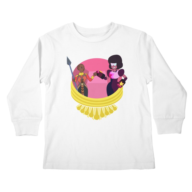 Respect Kids Longsleeve T-Shirt by Creaturista's Fine Goods