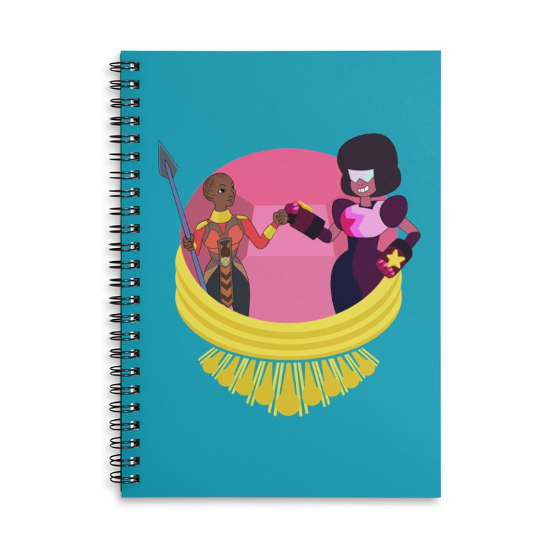 Respect Accessories Lined Spiral Notebook by Creaturista's Fine Goods