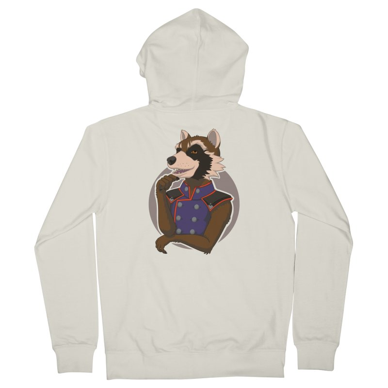 Strategic Mischief Men's French Terry Zip-Up Hoody by Creaturista's Fine Goods