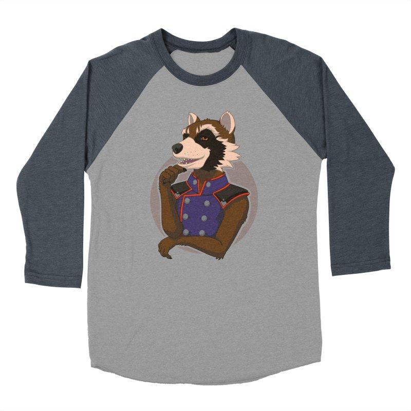 Strategic Mischief Men's Baseball Triblend Longsleeve T-Shirt by Creaturista's Fine Goods