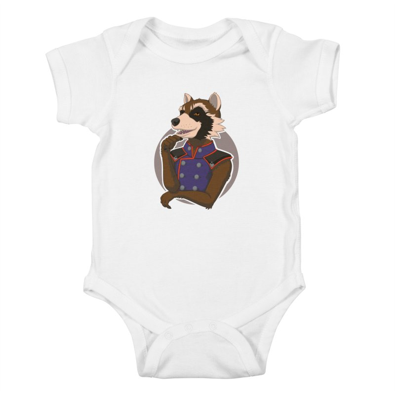 Strategic Mischief Kids Baby Bodysuit by Creaturista's Fine Goods