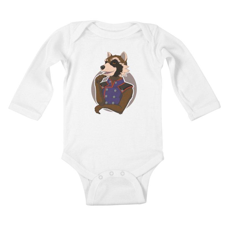 Strategic Mischief Kids Baby Longsleeve Bodysuit by Creaturista's Fine Goods