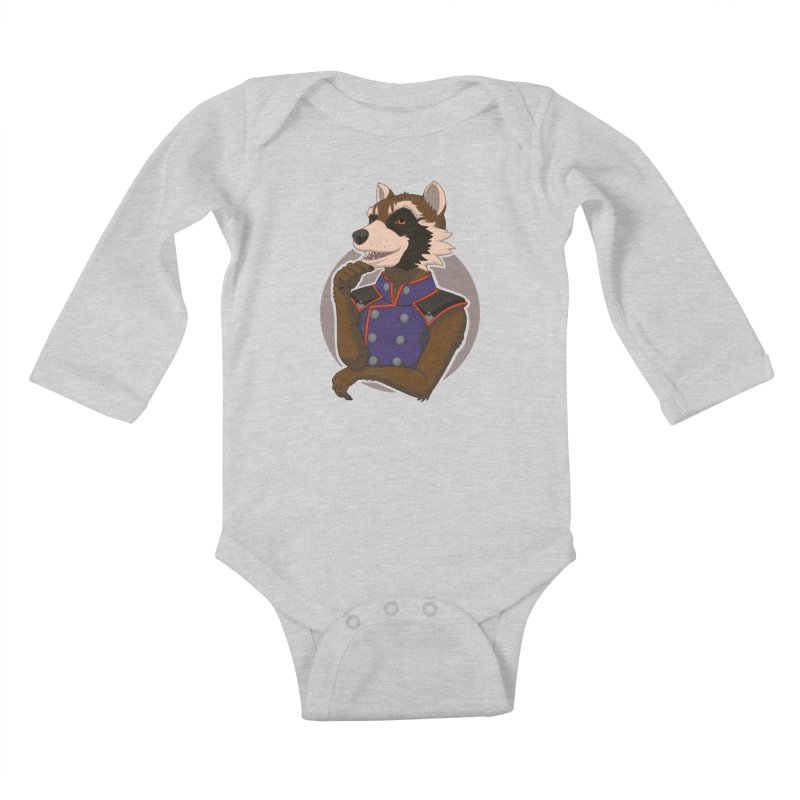 Strategic Mischief Kids Baby Longsleeve Bodysuit by Creaturista's Fine Goods