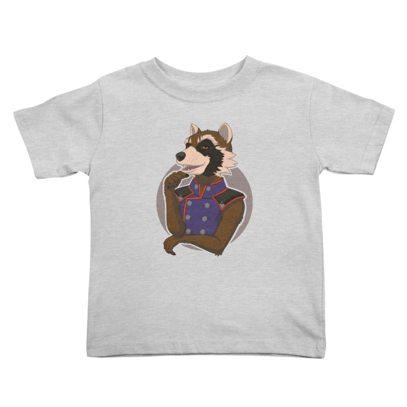 Strategic Mischief Kids Toddler T-Shirt by Creaturista's Fine Goods