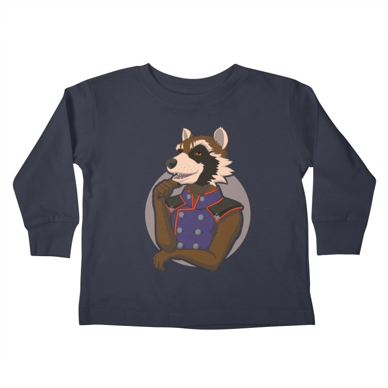 Strategic Mischief Kids Toddler Longsleeve T-Shirt by Creaturista's Fine Goods