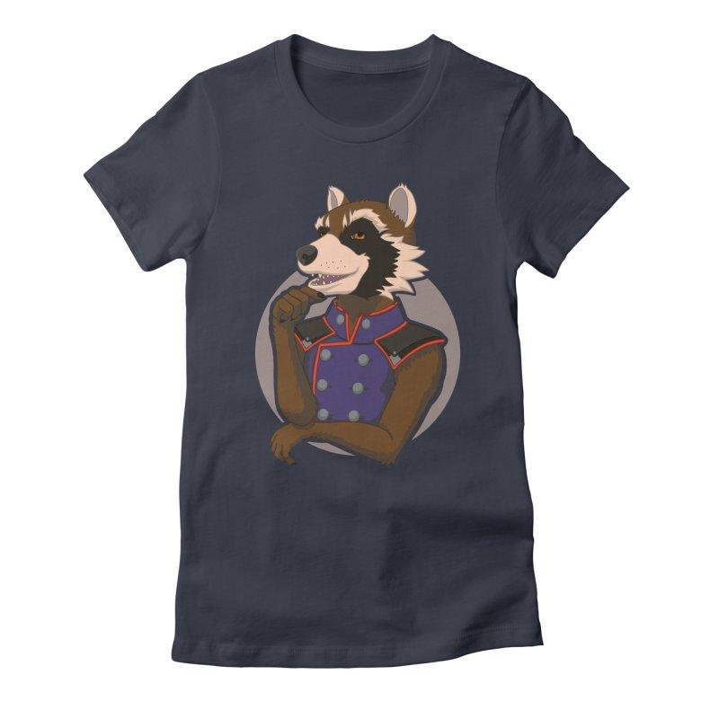 Strategic Mischief Women's Fitted T-Shirt by Creaturista's Fine Goods