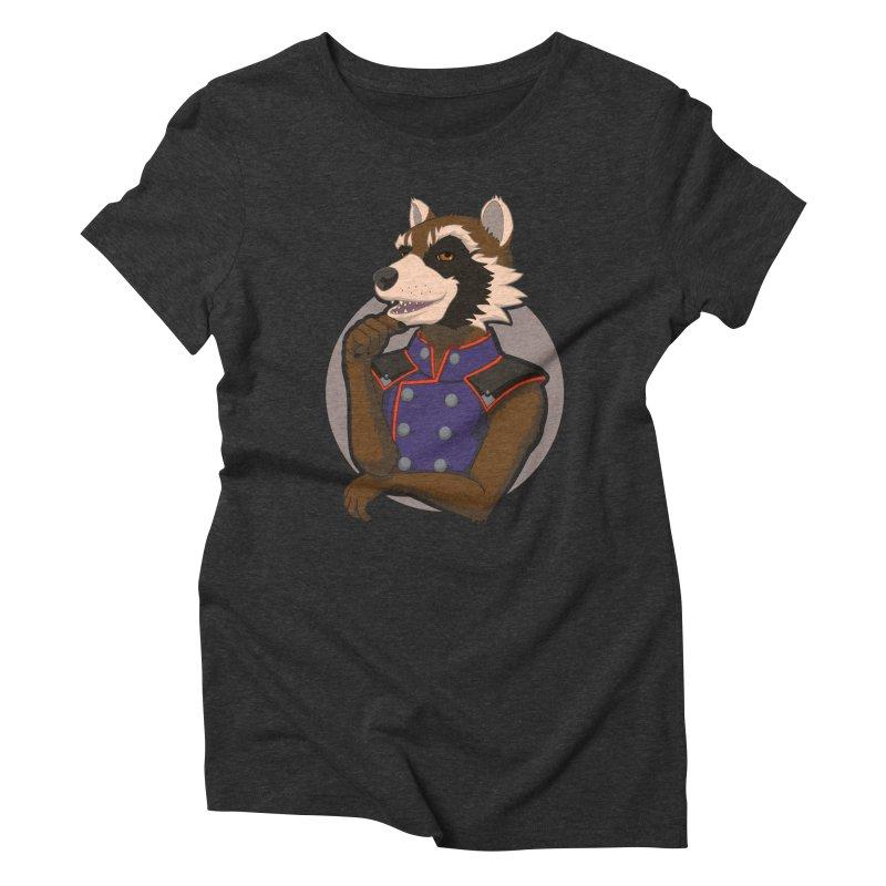 Strategic Mischief Women's Triblend T-Shirt by Creaturista's Fine Goods