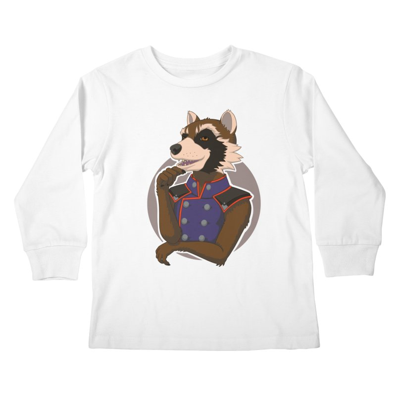 Strategic Mischief Kids Longsleeve T-Shirt by Creaturista's Fine Goods