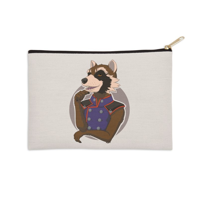 Strategic Mischief Accessories Zip Pouch by Creaturista's Fine Goods