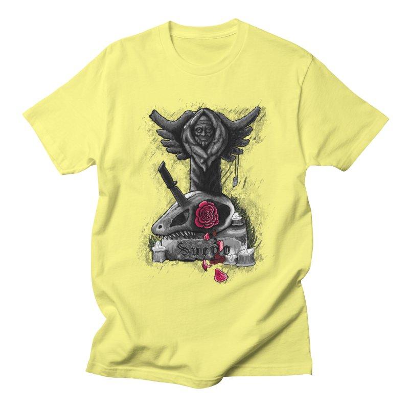 Raptor Skull Men's T-Shirt by Creaturista's Fine Goods