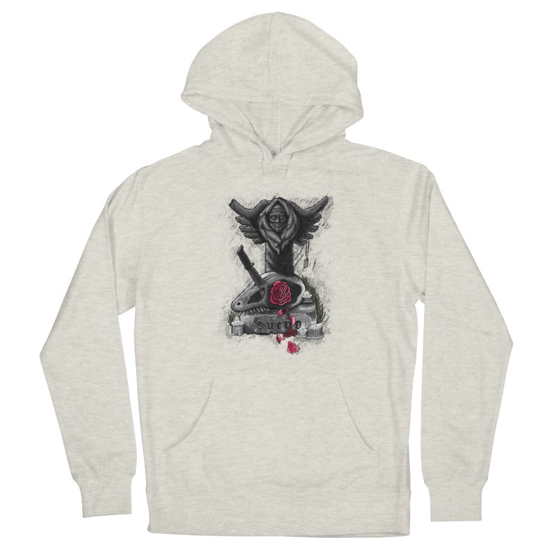 Raptor Skull Men's Pullover Hoody by Creaturista's Fine Goods