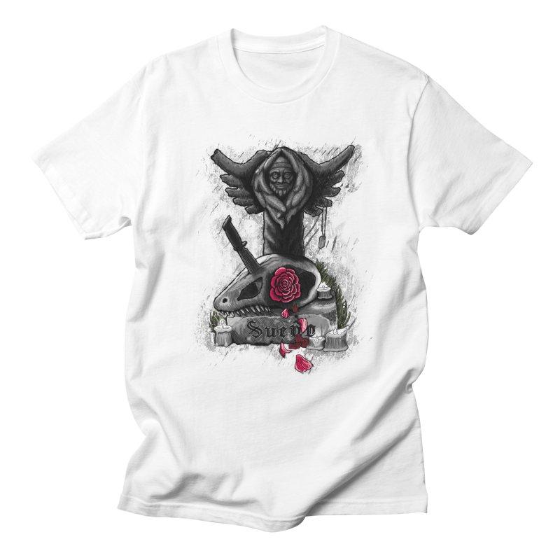 Raptor Skull Women's Regular Unisex T-Shirt by Creaturista's Fine Goods