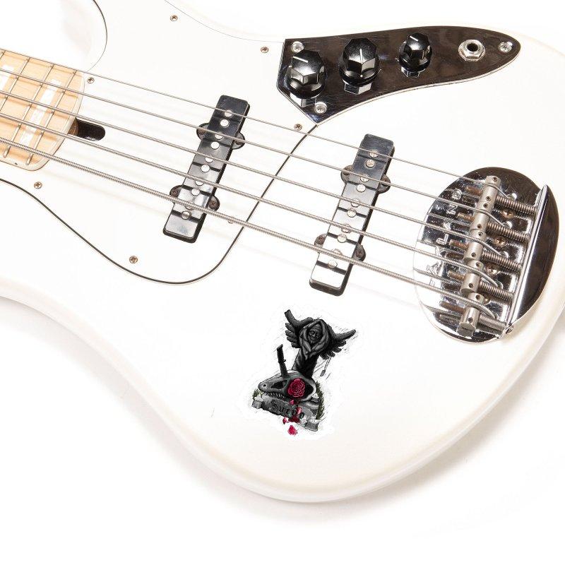 Raptor Skull Accessories Sticker by Creaturista's Fine Goods