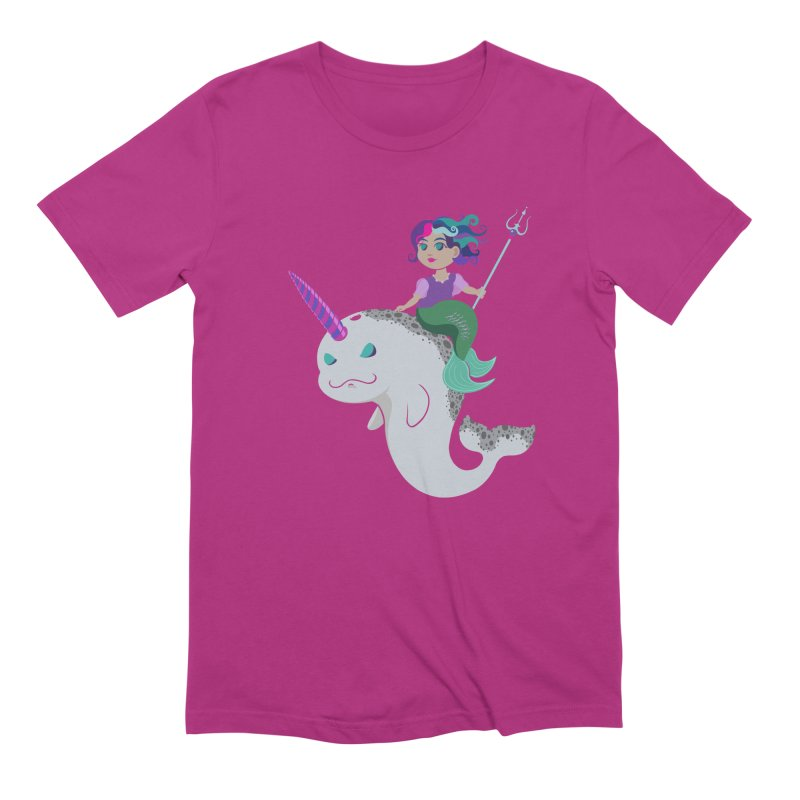 Once Upon a Wave Men's Extra Soft T-Shirt by Creaturista's Fine Goods