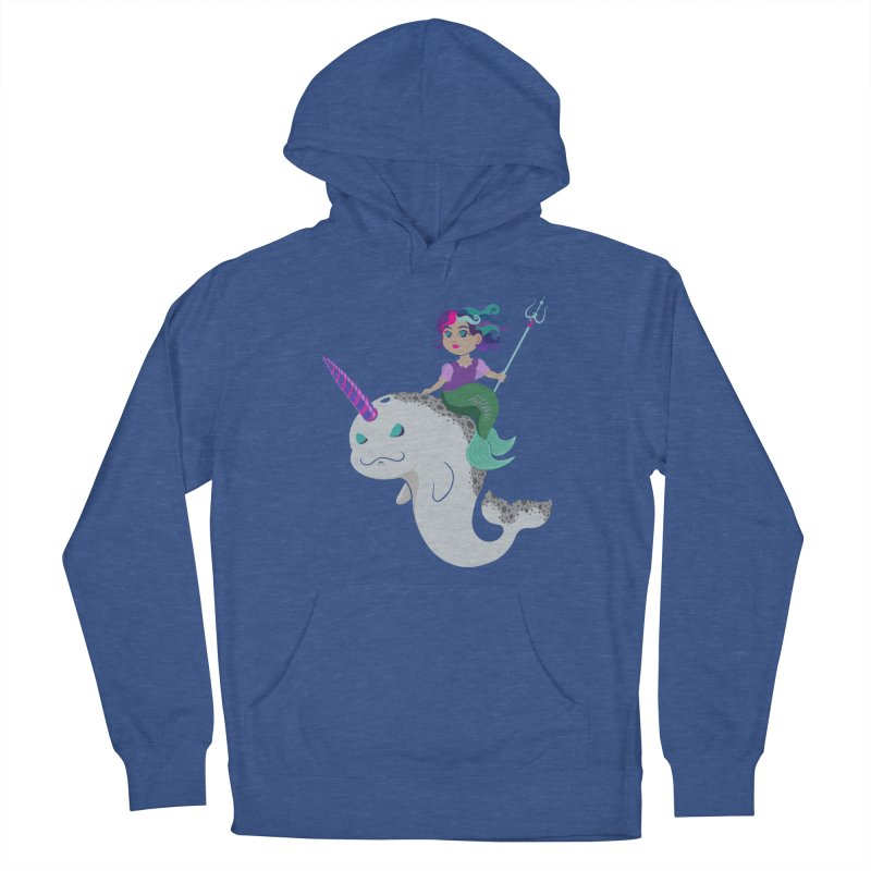 Once Upon a Wave Women's French Terry Pullover Hoody by Creaturista's Fine Goods