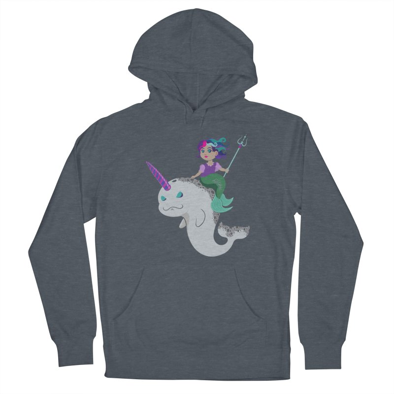 Once Upon a Wave Men's French Terry Pullover Hoody by Creaturista's Fine Goods