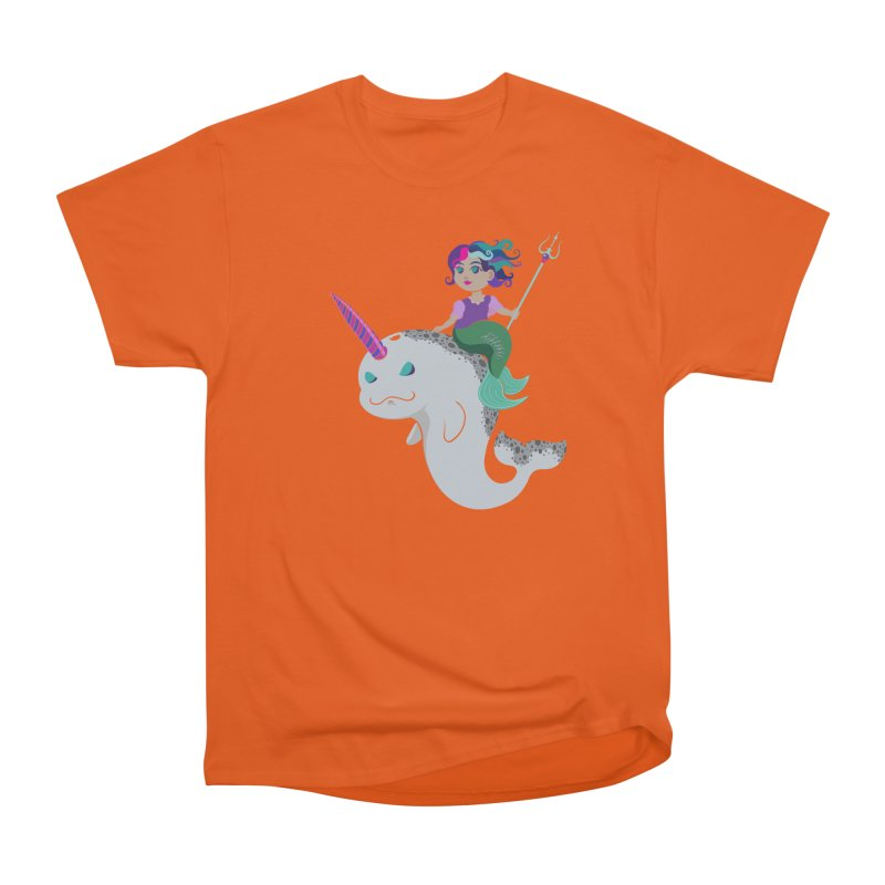 Once Upon a Wave Men's Heavyweight T-Shirt by Creaturista's Fine Goods