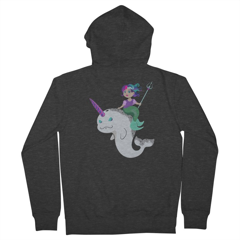 Once Upon a Wave Women's French Terry Zip-Up Hoody by Creaturista's Fine Goods