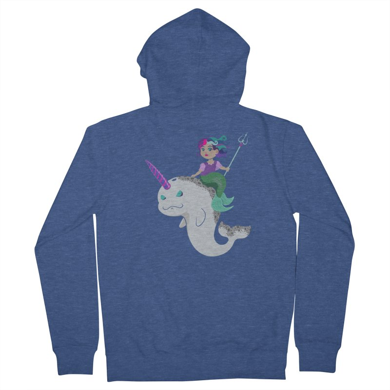 Once Upon a Wave Men's French Terry Zip-Up Hoody by Creaturista's Fine Goods