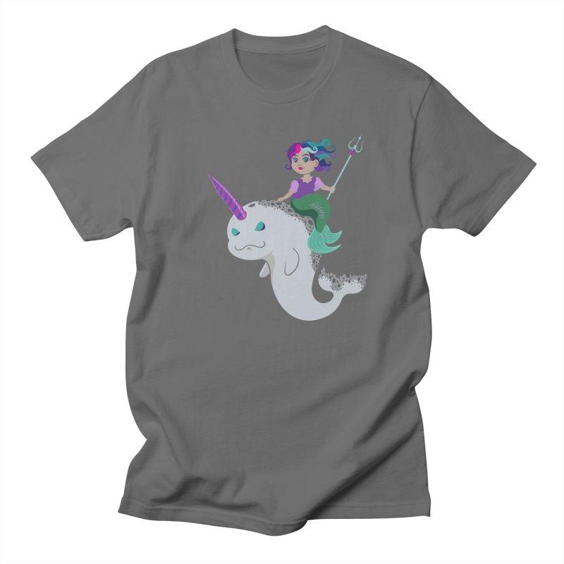 Once Upon a Wave Women's Regular Unisex T-Shirt by Creaturista's Fine Goods