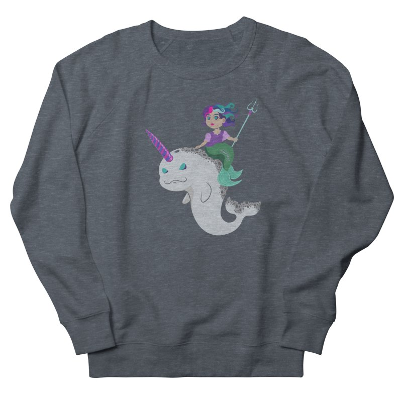 Once Upon a Wave Women's French Terry Sweatshirt by Creaturista's Fine Goods
