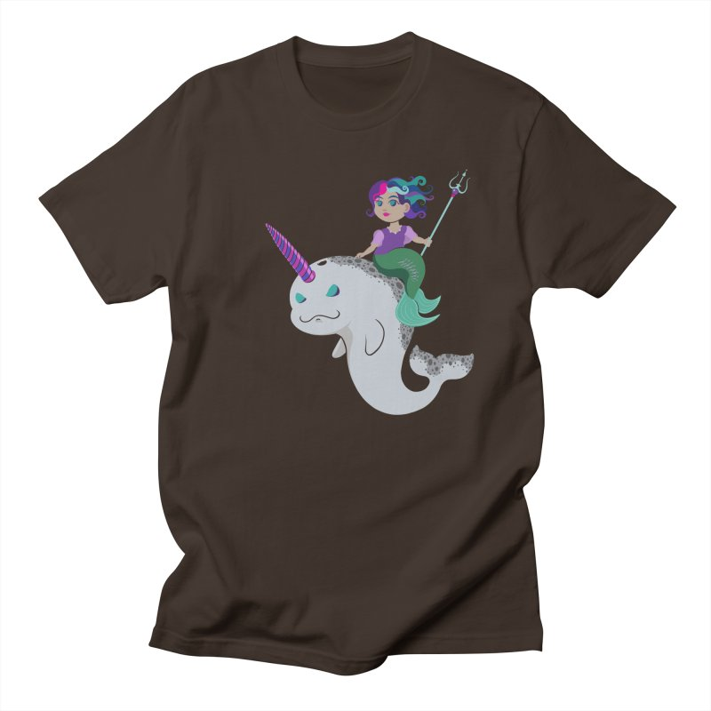 Once Upon a Wave Men's Regular T-Shirt by Creaturista's Fine Goods