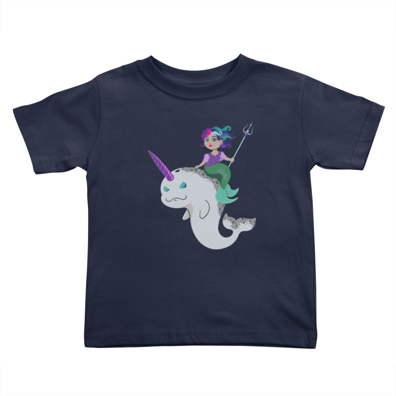 Once Upon a Wave Kids Toddler T-Shirt by Creaturista's Fine Goods