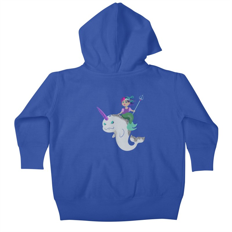 Once Upon a Wave Kids Baby Zip-Up Hoody by Creaturista's Fine Goods