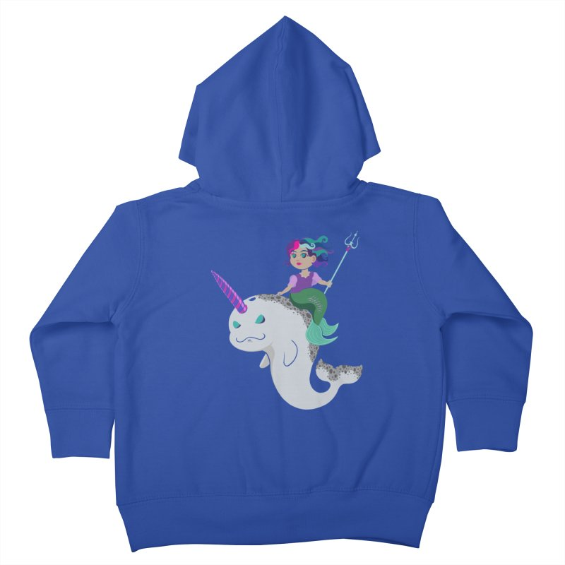Once Upon a Wave Kids Toddler Zip-Up Hoody by Creaturista's Fine Goods