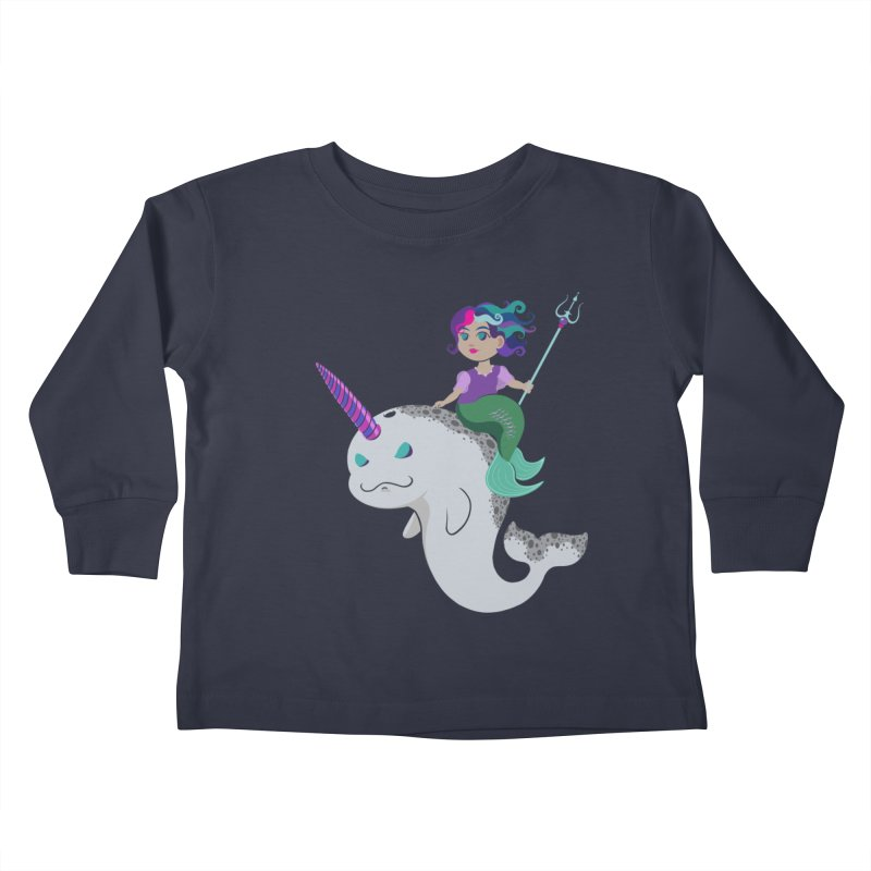 Once Upon a Wave Kids Toddler Longsleeve T-Shirt by Creaturista's Fine Goods