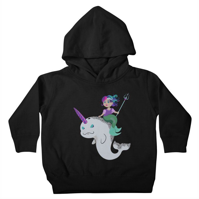 Once Upon a Wave Kids Toddler Pullover Hoody by Creaturista's Fine Goods