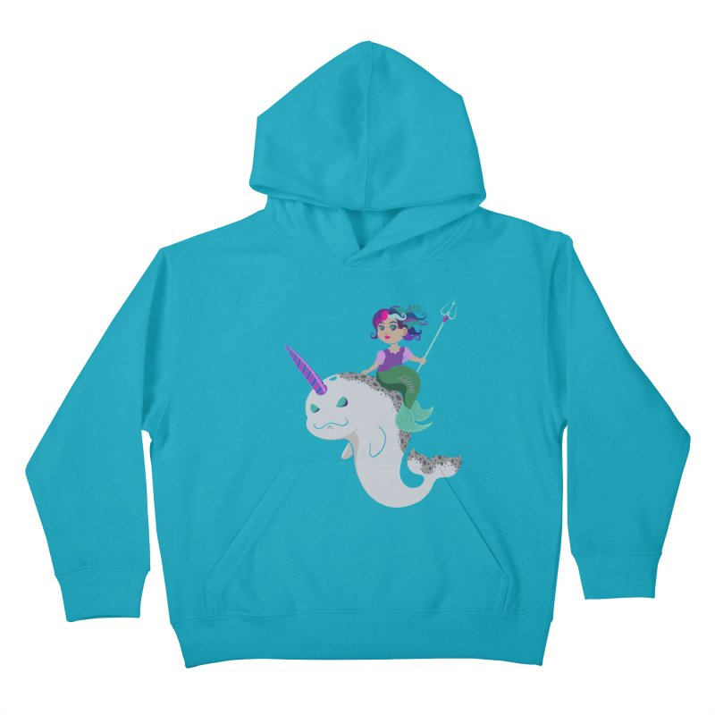 Once Upon a Wave Kids Pullover Hoody by Creaturista's Fine Goods
