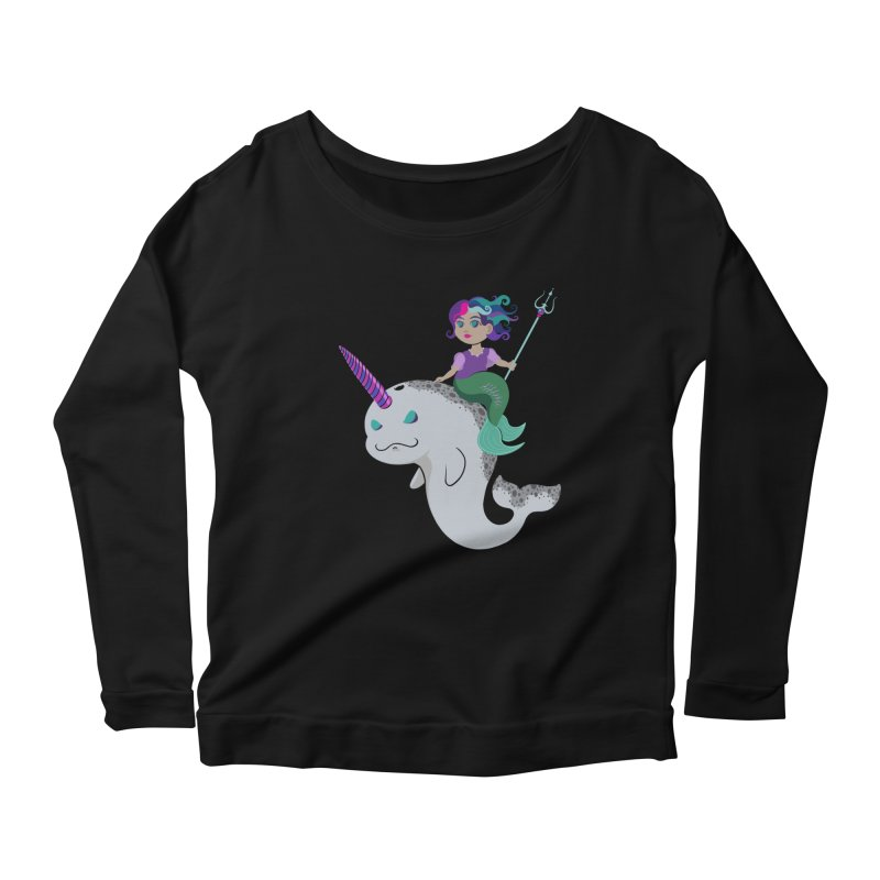 Once Upon a Wave Women's Longsleeve T-Shirt by Creaturista's Fine Goods