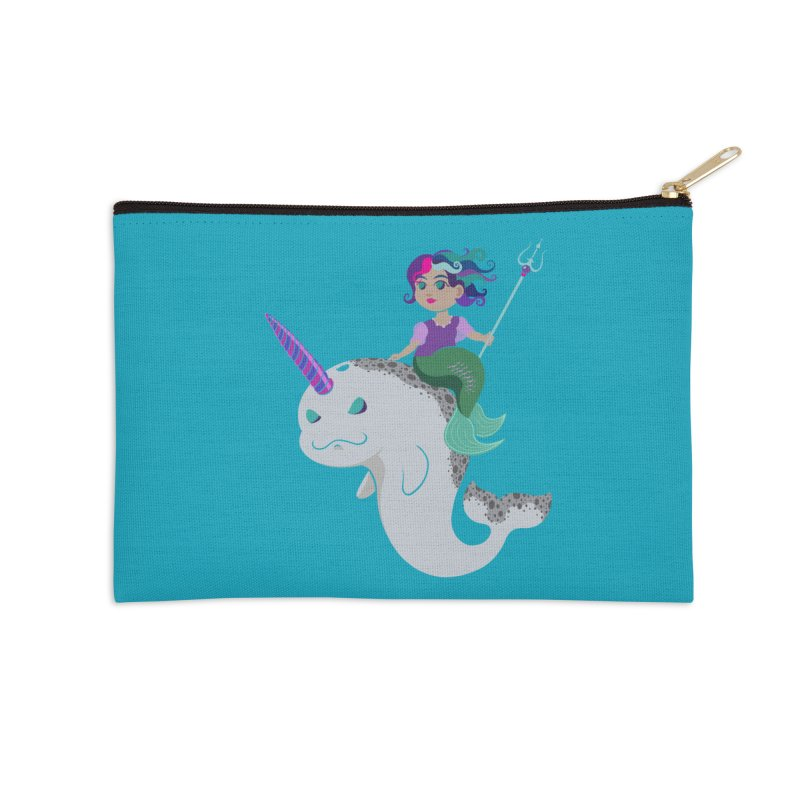 Once Upon a Wave Accessories Zip Pouch by Creaturista's Fine Goods